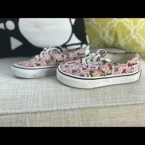 Vans Peanut Gallery Sneakers- Toddler size 11